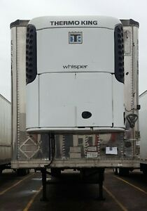 2011 Great Dane Reefer Trailer Thermo King SB210