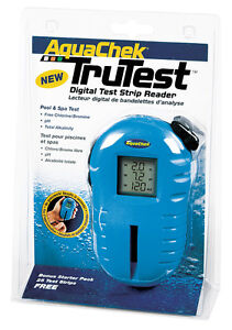 Hot Tub  TruTest Digital Test Strip Reader