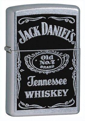 Zippo 24779, Jack Daniel's, Street Chrome Finish Lighter,  Full Size