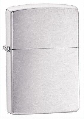 Zippo Armor Brushed Chrome Lighter,   # 162, New In Box
