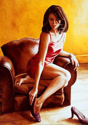 Annick Bouvattier LAstragale Poster Kunstdruck Bild 70x50cm