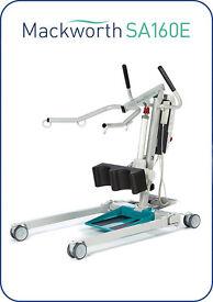 Mackworth SA160E Stand Assist Hoist Mobility patient host 160kg inbuilt charger