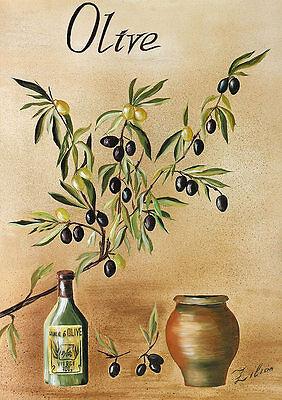 Zilian Olive Poster Kunstdruck Bild 70x50cm