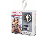 2 PACKS OF HEDKANDI PEARL DROP SMALL AND COMPACT TRAVEL SPEAKERS - XMAS STOCKING FILLER IDEA