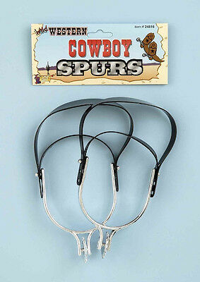 Cowboy Spurs Western Sheriff Rodeo Lone Ranger Halloween Adult Costume Accessory - Lone Ranger Costume Western Cowboy Costumes