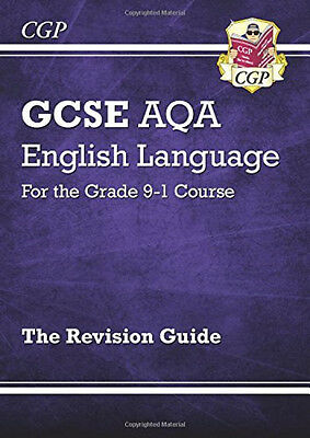 New CGP GCSE English Language AQA Revision Guide Book - For The Grade 9-1 Course