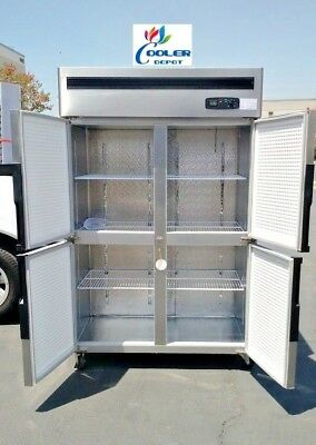 Four Door Commercial Freezer Rf32cooler Restaurant Equipmentcommercial