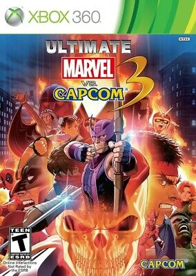 Ultimate Marvel vs. Capcom 3 - Xbox 360 Game, usado comprar usado  Enviando para Brazil