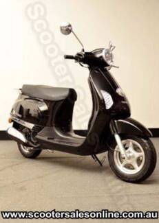 *NEW* Torino Famosa 125cc Scooter Black Ride Away Free Delivery*