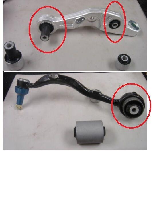 LEXUS LS460 LS600 FRONT LOWER SUSPENSION CONTROL ARM BUSH BUSH KIT FOR LH OR RH