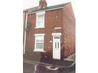 2 Bedroom terraced house to rent.Easington,No Bond.Housing benefit welcome