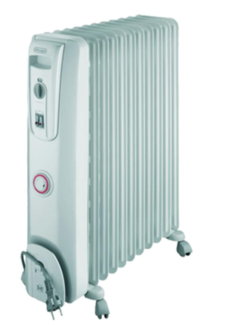 Oil Heater Delonghi large + small