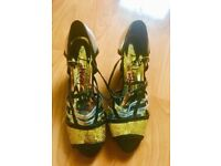 Lilley Sparkley Shoes Size 3