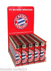 2 x Elektronik Fan - Feuerzeuge von FC Bayern Müchen  @ zum Aktionspreis