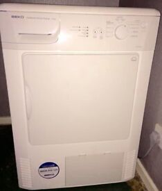 Beko condenser dryer excellent condition can also deliver to your address if needed
