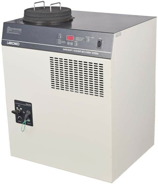 Labconco Laboratory 60-Cycle 16A 115V Rapidtrap Solvent Recovery System 7880000