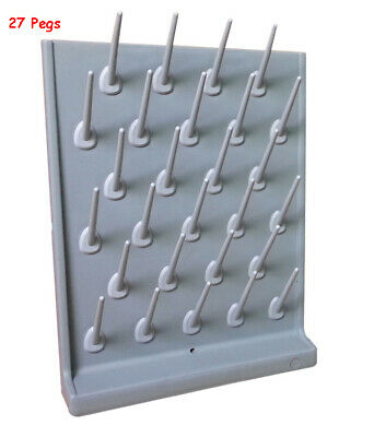Drying Rack Pp 27pegs Wall Mounted Desk Top Lab Supply Cleaning Equipment