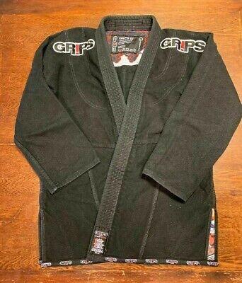 Kimono uomo A3 BJJ brazilian jiu jitsu GR1PS nero secret weapon