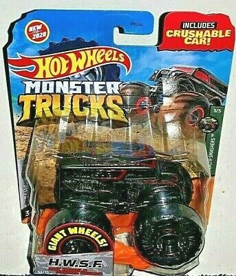 HOT WHEELS 2020 MONSTER TRUCKS H.W.S.F. HOT WHEELS SPECIAL FORCES DIARY NEW! 3/5