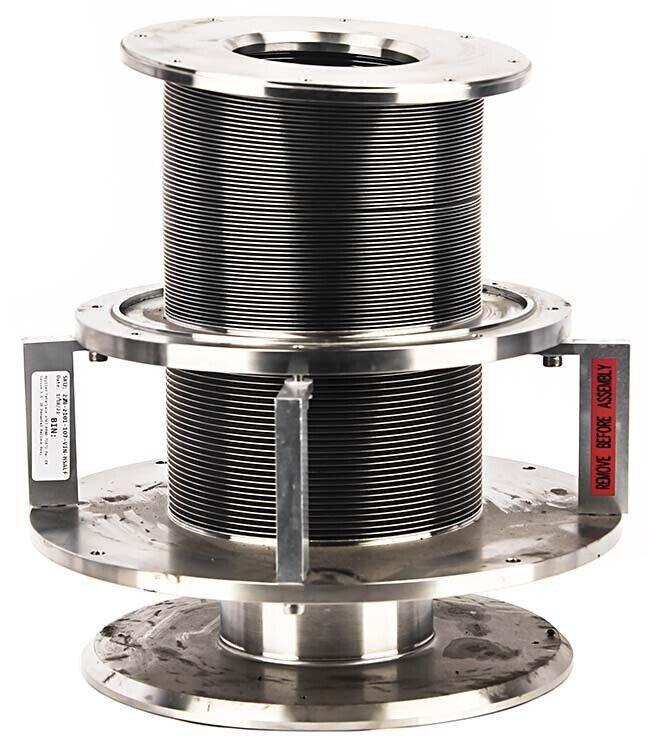 """Applied Materials Amat 0040-71472 Rev E8 Vacuum 3.5"""" Id Pedestal Bellows Assy"""