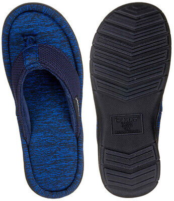 Isotoner Women's Sport Clare Thong Slippers, Navy Blue (Assorted Sizes)