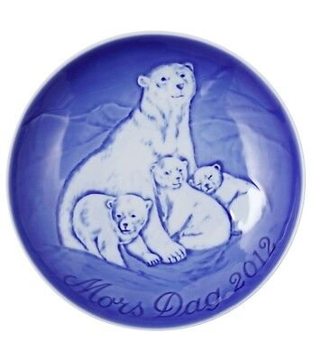 Bing & Grondahl 2012 Mother's Day Plate NIB Mother Polar Bear with Cubs on Rummage
