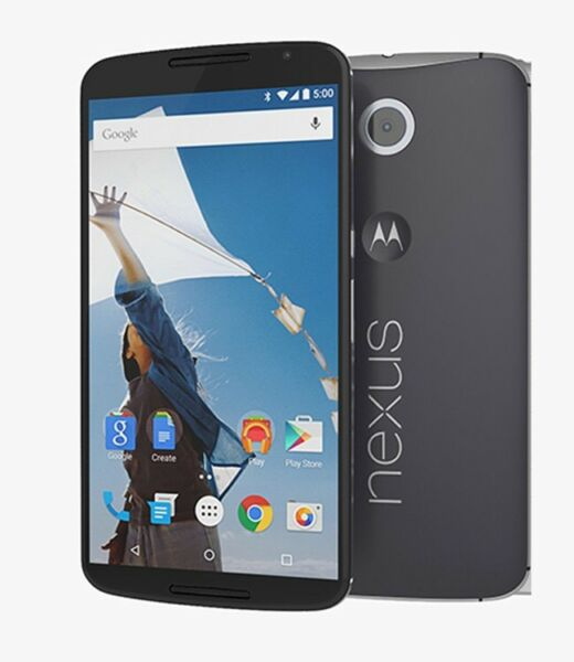 Motorola Nexus 6 - Midnight Blue (Unlocked) Smartphone NEW Retail Packaged 1