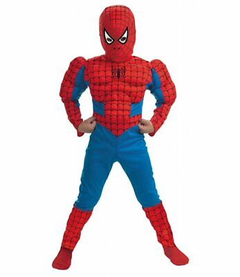 Amazing Spider-Man Muscle Costume Marvel Comics Brand New SIZE 4-6 Disguise 5766