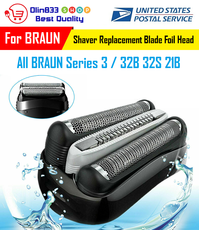 replacement foil head for braun 32b 32s