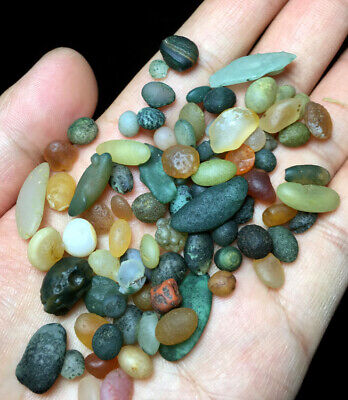 36g Natural Gobi Multi-Color Alashan Candy Agate,Suiseki-viewing Collection e429