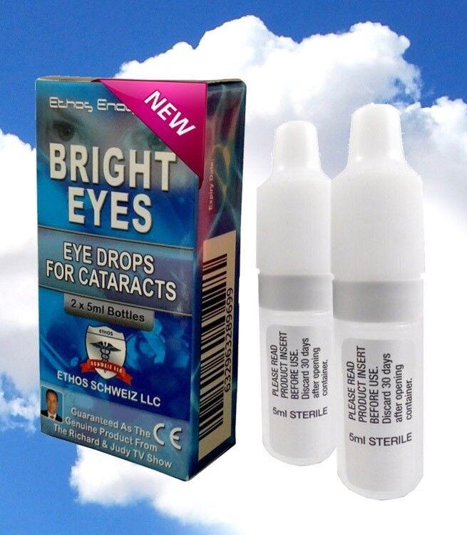 Ethos Bright Eyes NAC EyeDrops for Cataracts 1 Box 10ml Supe