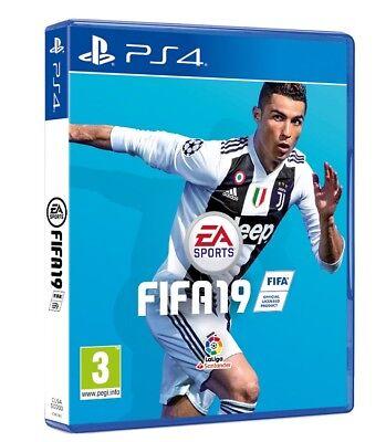 VIDEOGIOCO FIFA 19 - PS4 ITALIANO PLAY STATION 4 GIOCO FIFA 2019 STAND. EDITION