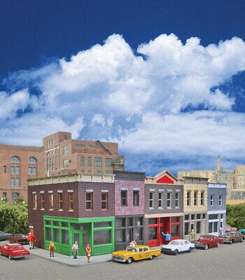 Downtown Deco HO Scale Building Kit Bad To The Bone Block Rare Decals /& Bonus