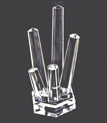 Acrylic 5 Finger Style Ring Display Stand ***NEW***