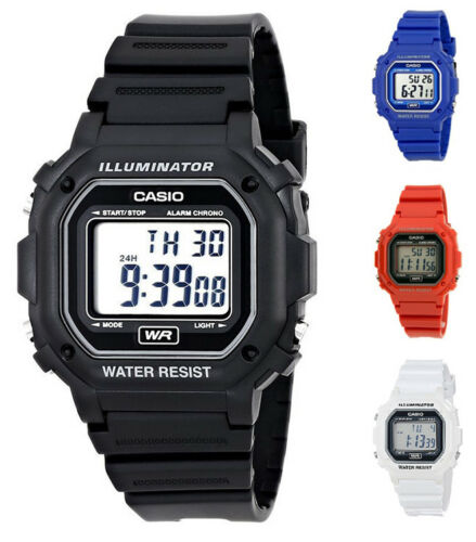 Casio Unisex Classic Digital Large Case 7-Year Battery Resin