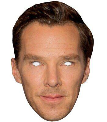 Benedict Cumberbatch Prominent 2d Karten Party Gesichtsmaske - Benedict Cumberbatch Kostüme