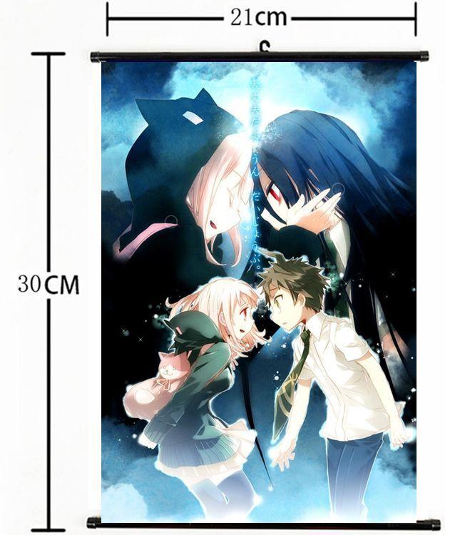 Japanese Anime  Danganronpa Dangan Ronpa Poster Wall Scroll 2073