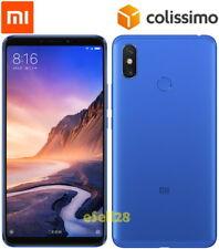 """Xiaomi Mi Max 3 64Go ROM 4Go RAM DoubleSim Débloqué Smartphone 6.9"""" 5500mAh Bleu"""