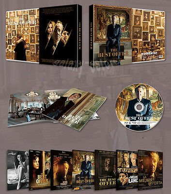 THE BEST OFFER (2013) [Blu-Ray] + Booklet BOX SET, Limited 1000 / (Region ALL)