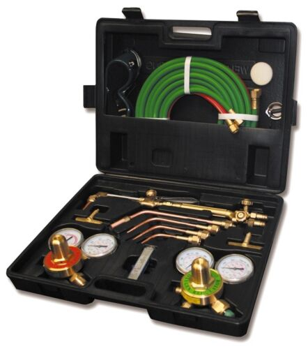 New Gas Welding Cutting Kit Oxy Acetylene ...