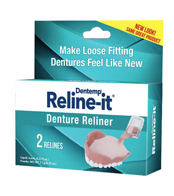 D.O.C Reline-It Improved Formula Denture Reliner Kit