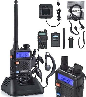Best Handheld Radio Scanner Police Fire Transceiver Portable Antenna Key Lock UK
