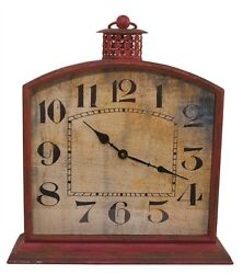 BORDEAUX IRON WALL CLOCK By SPLIT P/LARGE WALL CLOCK