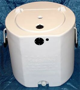100 gallon fish tank aerator gallon livewell white tank for Well water for fish tank