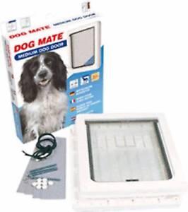New Dog Mate Medium Dog Door Diamond Creek Nillumbik Area Preview