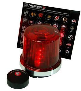 Chicago Blackhawks NHL Licensed Hockey Goal Light W/ All 30 Authentic Goal Horns