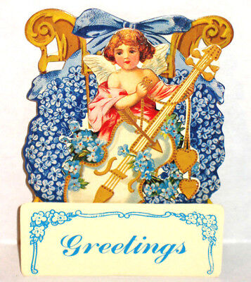 VINTAGE 3D Valentine Card/Standing Holiday Decoration MINT Condition Rare! - Vintage Valentine Decorations