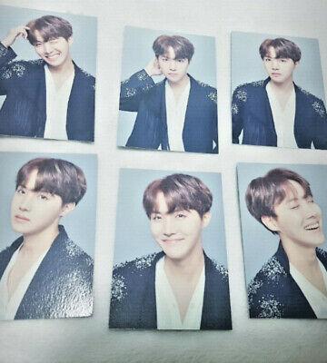 BTS Official Wings Final Concert MD J-hope Ho-seok Mini Photo Set 17 Collectible