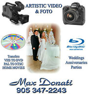 Video, Photography and transfers