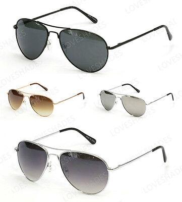 Retro Aviator Sunglasses Vintage Multi-color New Men Women F